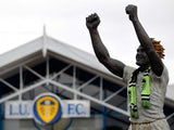 A general view of the Bill Bremner statue outside the ground before the Sky Bet Championship match between Leeds United and Middlesbrough at Elland Road on August 16, 2014