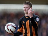 Elliot Johnson of Barnet in action during the npower league Two match between Northampton Town and Barnet at Sixfields Stadium on April 27, 2013