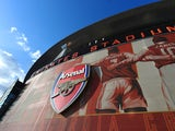 A general view of the outside of the stadium ahead of the Barclays Premier League match between Arsenal and Sunderland at Emirates Stadium on May 20, 2015
