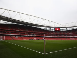 A general view inside the ground prior to the Barclays Premier League match between Arsenal and West Ham United at Emirates Stadium on March 14, 2015