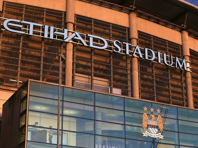 A general view of the Etihad Stadium is seen prior to the Barclays Premier League match between Manchester City and Leicester City at Etihad Stadium on March 4, 2015