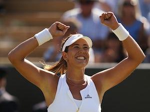Result: Muguruza powers into Wimbledon final