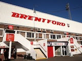 A general view of the outside of the ground ahead of the Sky Bet Championship match between Brentford and Derby County at Griffin Park on November 1, 2014