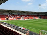 A general view of the Keepmoat Stadium during the Pre Season Friendly match between Doncaster Rovers and Motherwell at the Keepmoat Stadium on July 13, 2013