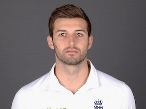 Mark Wood poses during an England portrait session in May 2015