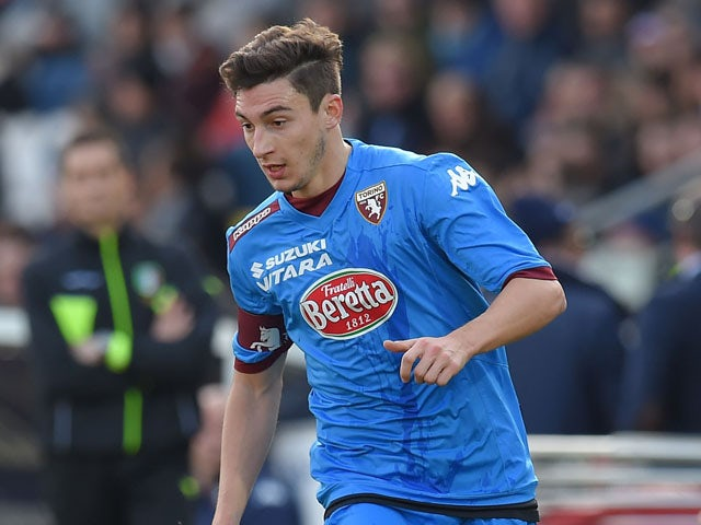 Matteo Darmian of Torino in action during the Serie A match between AC Cesena and Torino FC at Dino Manuzzi Stadium on January 18, 2015