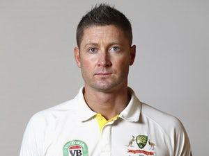 Michael Clarke poses during an Australia portrait session in May 2015