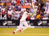 Moeen Ali in action for England on day two of the first Test of The Ashes on July 9, 2015
