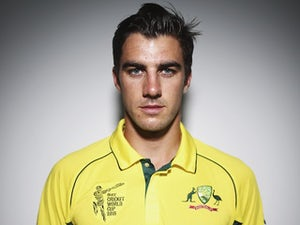 Pat Cummins poses during an Australia portrait session in January 2015