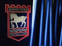 An Ipswich Town sign is seen inside of Portman Road, home of Ipswich Town Football Club on March 15, 2011