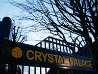 A general view of Crystal Palace gates prior to the Barclays Premier League match between Crystal Palace and Tottenham Hotspur at Selhurst Park on January 10, 2015