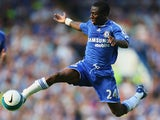 Shaun Wright-Phillips of Chelsea in action during the Barclays Premier League match between Chelsea and Portsmouth at Stamford Bridge on August 25, 2007