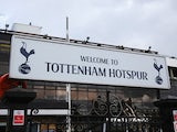 A general view of the Tottenham Hotspur welcome sign prior to the Barclays Premier League match between Tottenham Hotspur and Southampton at White Hart Lane on March 23, 2014