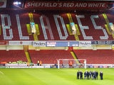 A general view of the 'Jessica Ennis' stand at Bramall Lane ahead of the FA Cup First Round Replay match between Sheffield United and Cewe Alexandra at Bramell Lane on November 18, 2014