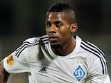 Jeremain Lens of FC Dynamo Kyiv in action during the UEFA Europa League Quarter Final match between ACF Fiorentina and FC Dynamo Kyiv on April 23, 2015