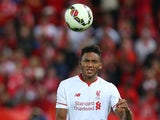 Joe Gomez Liverpool FC in action during the international friendly match between Brisbane Roar and Liverpool FC at Suncorp Stadium on July 17, 2015