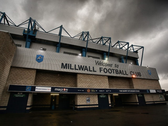 A general view of the ground ahead of the Capital One Cup Second Round match between Millwall and Southampton at The Den on August 26, 2014