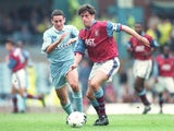 Andy Townsend of Aston Villa in action against Coventry on September 30, 1995