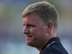 AFC Bournemouth manager Eddie Howe looks on prior to the Pre Season Friendly match between Salisbury City v AFC Bournemouth at the Raymond McEnhill Stadium on July 21, 2015