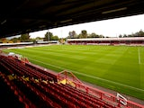 A general view of the ground ahead of the Sky Bet League One match between Crawley Town and Peterborough United at Broadfield Stadium on October 11, 2014