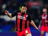 Harry Arter of Bournemouth in action during the Sky Bet Championship match between Cardiff City and AFC Bournemouth at Cardiff City Stadium on March 17, 2015