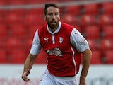 Kirk Broadfoot of Rotherham United in action during the Pre Season Friendly match between Rotherham United and Nottingham Forest at The New York Stadium on July 23, 2014