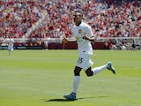 Jesse Lingard #35 of Manchester United celebrates after scoring against FC Barcelona in the 65th minute during the International Champions Cup on July 25, 2015
