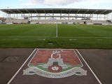 A general view of the East Stand prior to the Pre-Season Friendly match between Northampton Town and Birmingham City at Sixfields Stadium on July 21, 2015