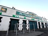 A general view of Home Park ahead of the Johnstone's Paint Trophy second round match between Plymouth Argyle and Swindon Town at Home Park on October 7, 2014