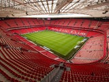 General view of Athletic Bilbao San Mames Stadium before the La Liga match between Athletic Club and Levante UD at San Mames Stadium on August 30, 2014