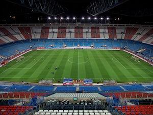 Atletico allow fans to take Calderon seats