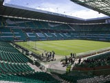 A general view of the ground ahead of the Scottish Premiership match between Celtic and Inverness Caley Thistle at Celtic Park on May 24, 2015