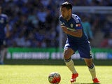 Chelsea's Colombian striker Radamel Falcao runs with the ball during the FA Community Shield football match between Arsenal and Chelsea at Wembley Stadium in north London on August 2, 2015