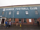 A general view outside the ground ahead of the pre season friendly match between Dundee and Everton at Dens Park on July 28, 2015
