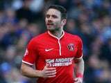 Charlton Athletic's Rhoys Wiggins during the Sky Bet Championship match between Leicester City and Charlton Athletic at The King Power Stadium on March 01, 2014