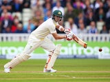 Australia's Steve Smith in action on day one of the Third Test on July 29, 2015
