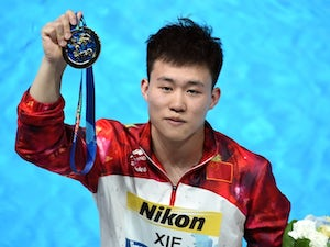 Result: Xie wins China's fifth consecutive 1m title