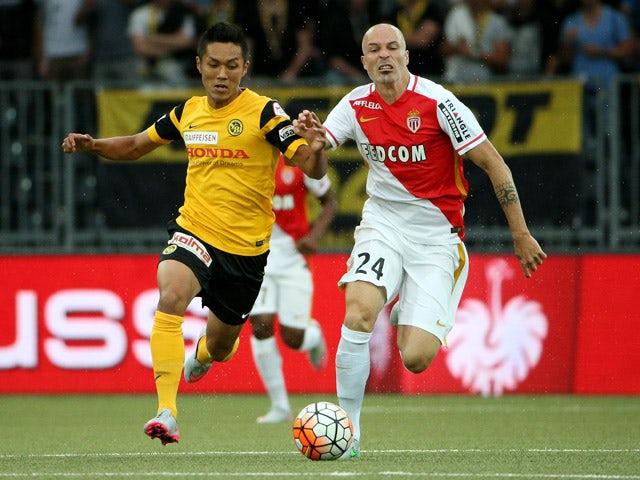 Result: Monaco put one foot in next round
