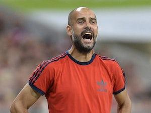 "Guardiola ""very, very happy"" with Bayern"