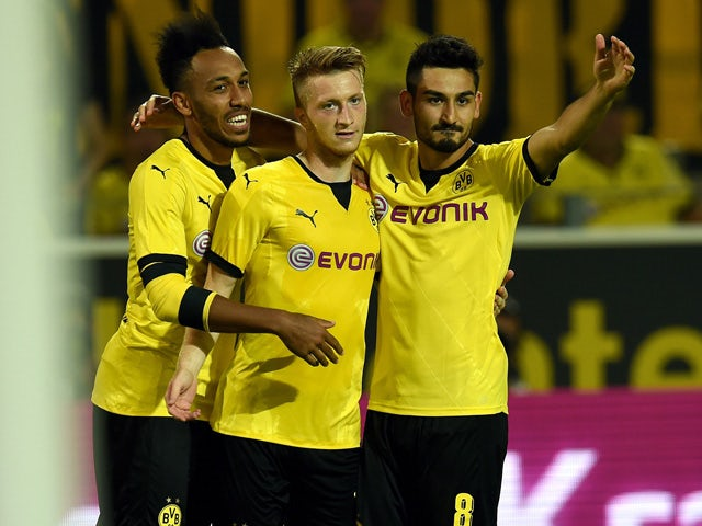 Result: Dortmund come back from three down to win