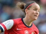 Casey Stoney of Arsenal Ladies during the FA Women's Cup Final match between Everton Ladies and Arsenal Ladies at Stadium mk on June 1, 2014