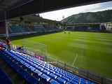 General view of SD Eibar Estadio Ipurua before the La Liga match between SD Eibar and Real Sociedad at Ipurua Municipal Stadium on August 24, 2014