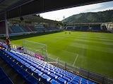 General view of SD Eibar Estadio Ipurua before the La Liga match between SD Eibar and Real Sociedad at Ipurua Municipal Stadium on August 24, 2014