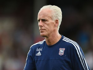 Early goal gives Ipswich half-time lead