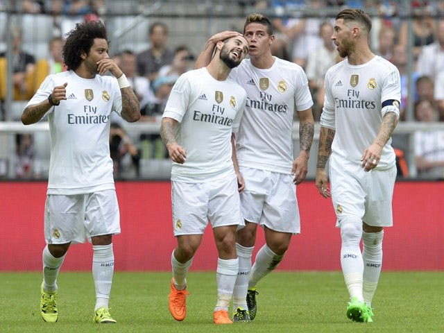 Result: Real Madrid move six points clear at top