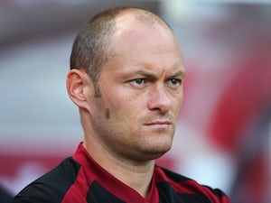 Norwich boss Alex Neil watches on intently as his team take on Sunderland on August 15, 2015