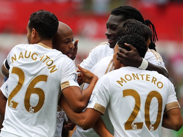 Result: Swansea ease past 10-man Newcastle