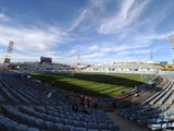 General view of the Coliseum Alfonso Perez stadium prior to kick-off for the La Liga match between Getafe CF and UD Almeria on August 29, 2014