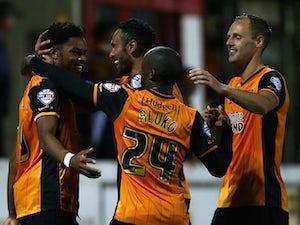 Hull sneak past Accrington in shootout