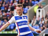 Jake Taylor of Reading during the Sky Bet Championship match between Reading and Blackpool at Madejski Stadium on October 25, 2014